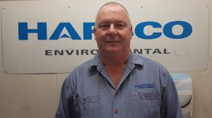 ANDREW HAYES, GENERAL MANAGER, HARSCO ENVIRONMENTAL