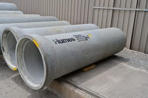 Humes has a history of supplying critical, high quality precast elements.