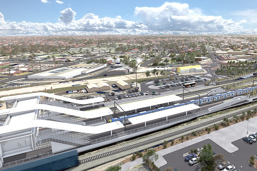 Sunshine Station to become transport superhub for Melbourne Airport Rail