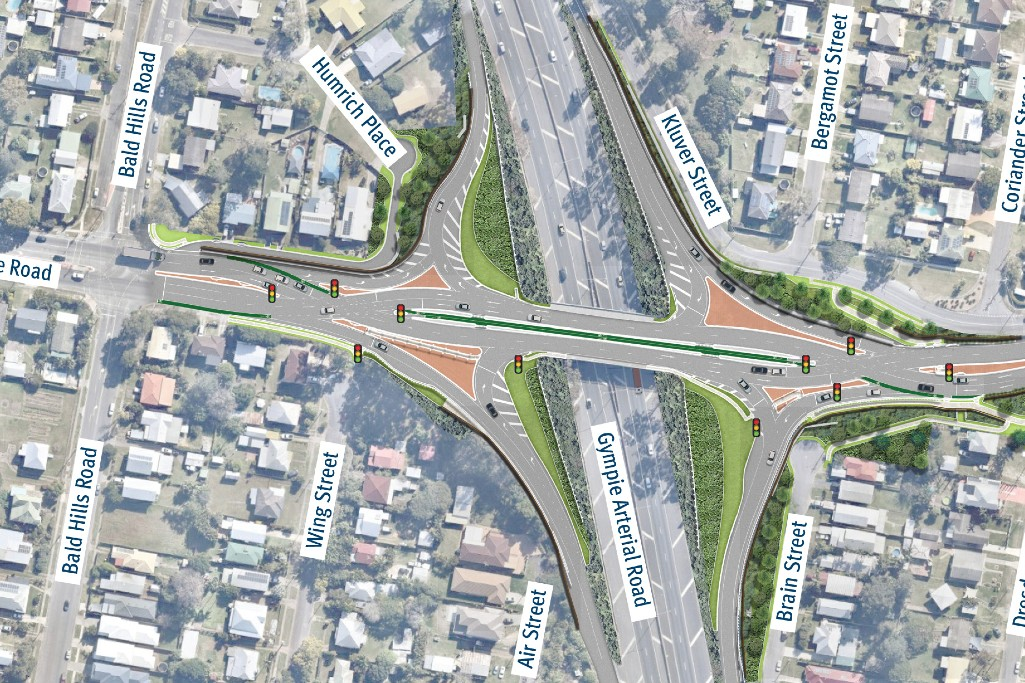 New interchange to ease traffic congestion in Brisbane's north