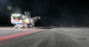 BildGroup was engaged in profiling the runway for Alice Springs Airport.