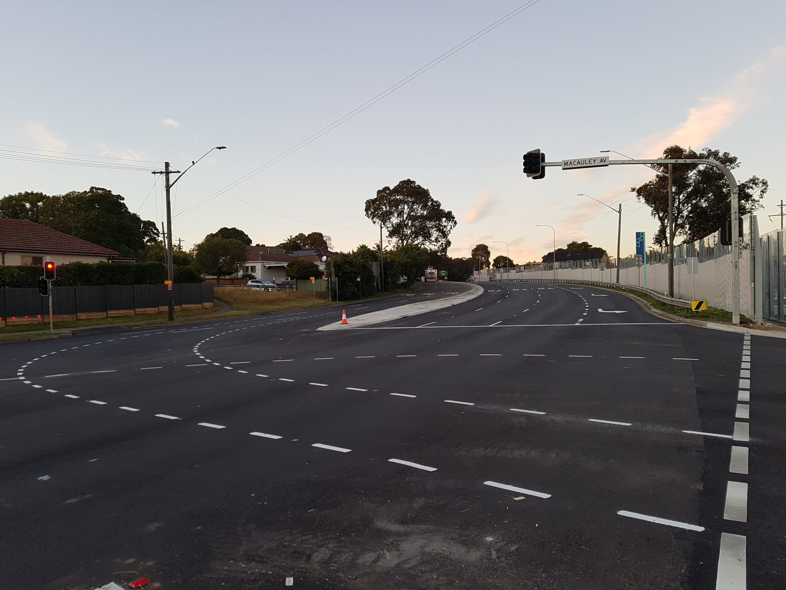 Western Sydney's Stacey Street, Fairford Road upgraded
