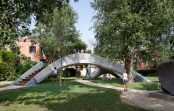 First-of-its-kind 3D concrete printed footbridge unveiled in Venice
