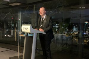 Peter Damen, AfPA Executive Director for WA and SA, opened the gala dinner event.