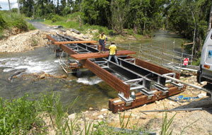 Roads & Civil Works Magazine looks at the myriad benefits of timber bridge renewal and repair that are making it a cost-effective alternative to complete structural replacement with other materials.