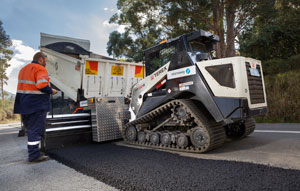 Stabilcorp's innovative ShoulderMaster road repair and widening attachment is becoming a mainstay on Australian roads, and is now poised to enter the North American market.