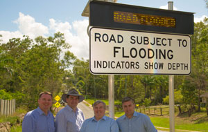 Logan City Council's new flooded road smart warning system is helping improve road safety around floodwaters on its road network.