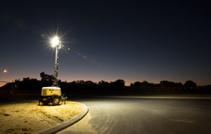 Waiting for the right technology to enter the market has paid dividends for PR Power, which is making big steps in the Australian road and civil construction sector with its PR ECO LED Lighting Tower.