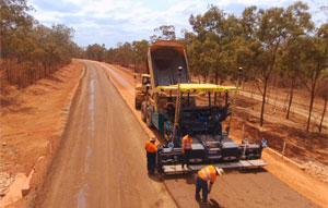 Koppen Developments is utilising the latest in Topcon survey and machine control technology to deliver upgrades to 22 kilometres of dirt road as part of the $200 million Peninsula Development Road project.