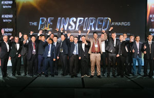 Achievements in advancing infrastructure recognised at 2017 Be Inspired Awards