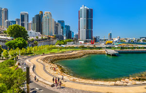 Lendlease launches Barangaroo recycled water plant