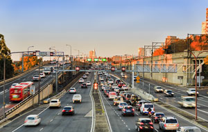 Australia's first regular measurement of actual road network performance using anonymised and aggregated Uber data reveals the country's best performing road corridor and areas with the worst traffic delays.