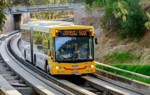 The $160 million O-Bahn City Access project has been officially opened at a community day marking the completion of the major construction project in Adelaide.