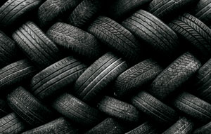 With millions of tyres dumped in Australia, a new innovation could turn used tyres into permeable surfaces – helping the environment and our future infrastructure.