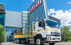Transport business, Tranz Logistics, has reflected on its fleet of Isuzu trucks, highlighting its customised fit-for-purpose equipment for the construction industry.