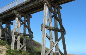 Funding from the Queensland Government is going towards replacing 18 timber rail bridges between Townsville and Cairns.