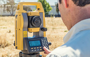 Topcon launches new manual total station