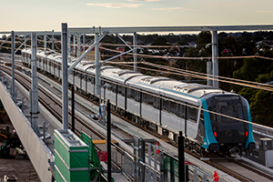 Automated trains a historic milestone for Sydney rail infrastructure