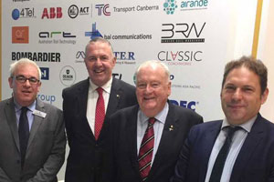Australasian and UK rail associations to develop new partnership
