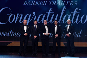 Barker Trailers' AFIA win highlights industry passion