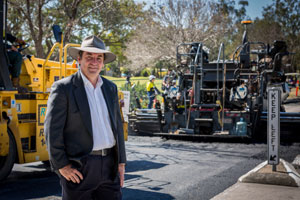 Queensland's Logan City Council is trialling a new asphalt technology that could help the city reduce its road maintenance and rehabilitation costs and extend pavement life.