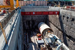 Tunnelling has begun in Sydney to deliver twin metro railway tunnels below the city's CBD and under Sydney Harbour as part of the Sydney Metro project.