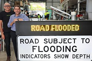The Queensland Government has committed an additional $880,000 to extend the reach and effectiveness of Logan City Council's Flooded Road Smart Warning System (FRSWS) and to undertake a flood impact study of the nearby rivers.