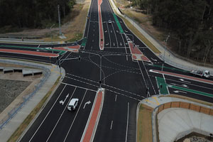 Civil construction company Hazell Bros has completed upgrades to the Pialba-Burrum Heads Road, Scrub Hill Road and Wide Bay Drive intersection in Queensland, which are improving safety for road users and pedestrians.