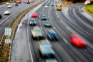 Free-flowing freeway-to-freeway interchange opens
