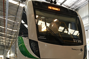 Downer delivers final Perth B-Series train