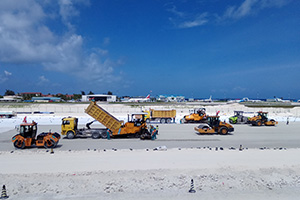Maldives airport extension takes off
