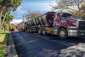 City of Bayside uses recycled asphalt