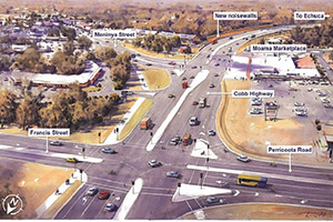 Contract awarded for $13M intersections of Echuca-Moama Bridge