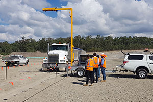 Scanning for heavy vehicle safety