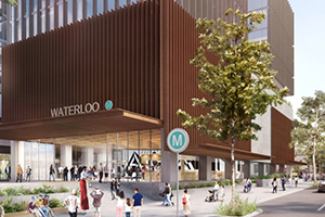 Waterloo Metro Station $299M build contract awarded